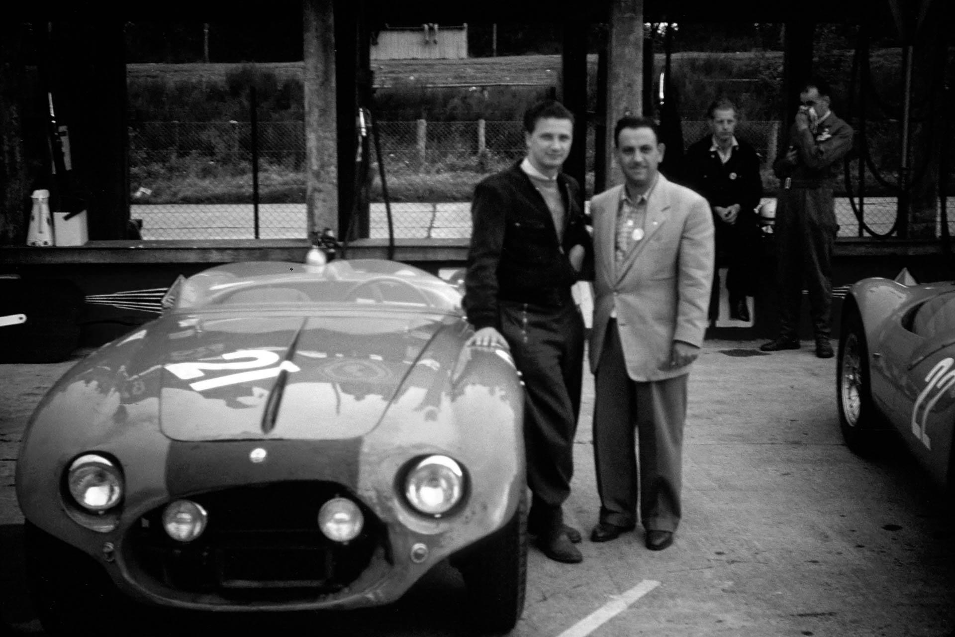 JM1304T53 Maserati A6GCS No. 21 & Hans Herrmann