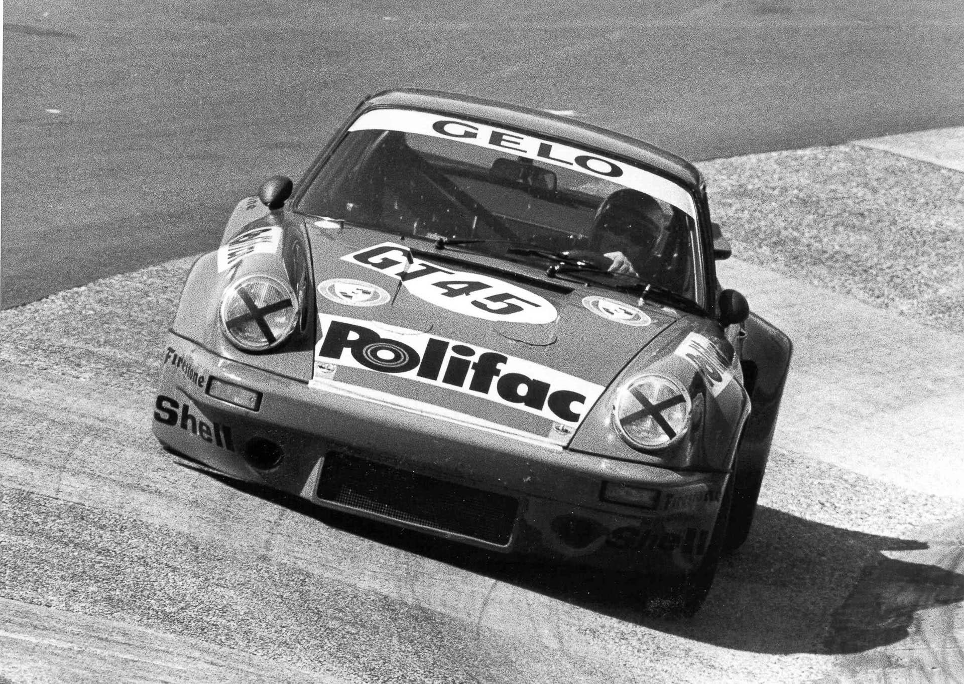 Porsche beim 1000km Rennen Nürburgring 1974
