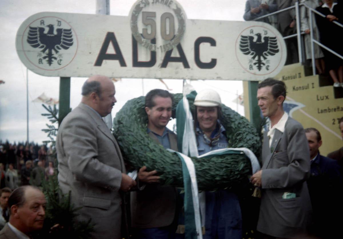Die ersten Gesamtsieger 1953. Alberto Ascari und Giuseppe Farina (ArchivMcAfee)